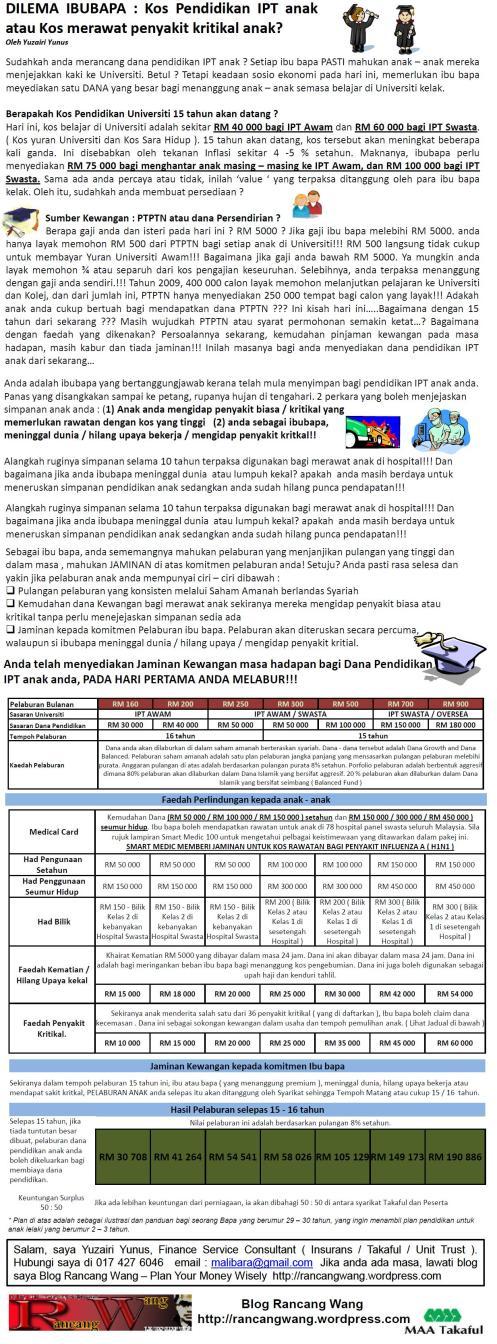 Pakej Pendidikan IPT